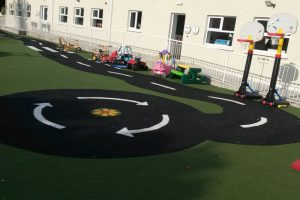 Astro play area at Mullingar Montessori and The Den After School Care