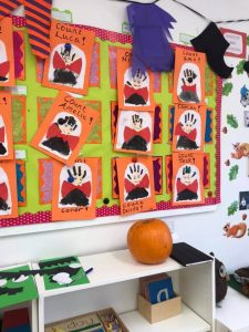 halloween camp mullingar kids posters hanging on a wall in mullingar