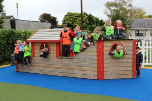 mullingar montessori playground ship with kids
