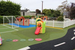 mullingar montessori and the den after school care outdoor play area