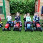 montessori schools mullingar kids playing with tractors