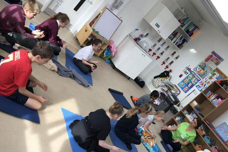 yoga for kids at the den mullingar