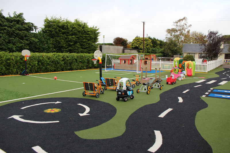 montessori mullingar and the den after school care outdoor play area
